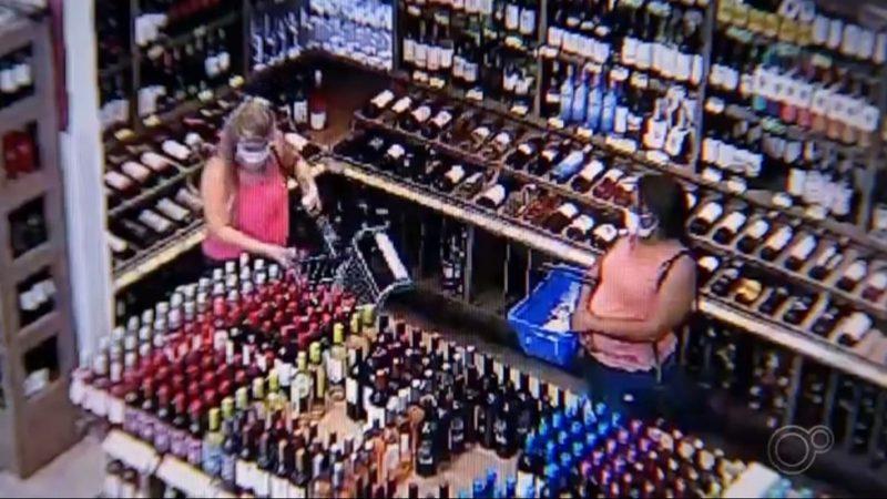 Mulheres roubam vinhos caros e dão prejuízo de R$ 70 mil