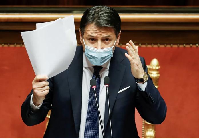 Primeiro-ministro da Itália renuncia após críticas por lockdown sem resultados