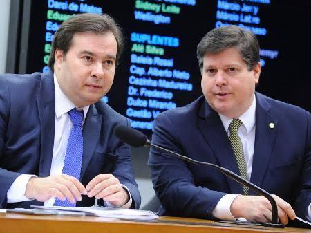 'A única certeza que eu tenho é que Baleia Rossi será o próximo presidente da Câmara dos Deputados', diz Rodrigo Maia