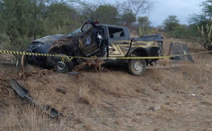 Policial penal morre em acidente durante escolta de preso no interior do RN
