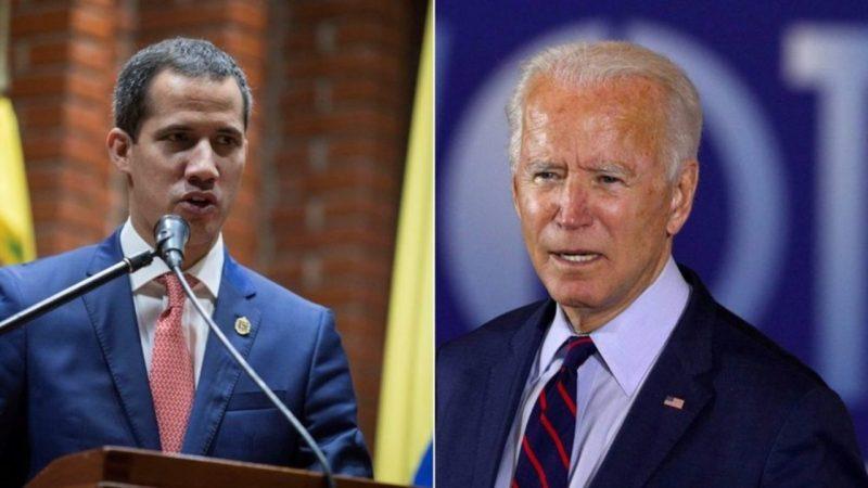 Biden reconhecerá Guaidó como presidente da Venezuela