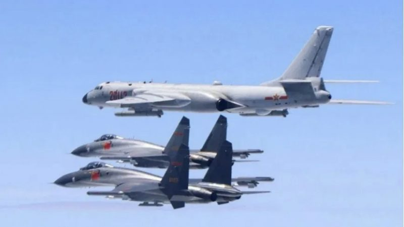 China envia aviões militares à Zona de Defesa Aérea de Taiwan para 'testar' atitudes de Biden