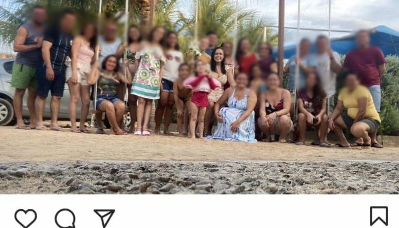 Fique em casa? Sindicalista que moveu ação contra retorno de servidores na UFERSA faz festa de aniversário com aglomeração em praia