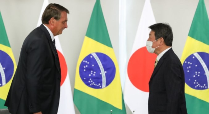 Bolsonaro recebe convite para abertura da Olimpíada de Tóquio