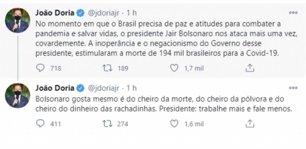 """Doria perde a linha e da """"CHILIQUE"""""""