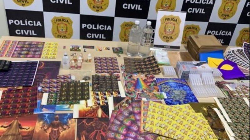 Polícia prende traficantes considerados os maiores distribuidores de LSD do país