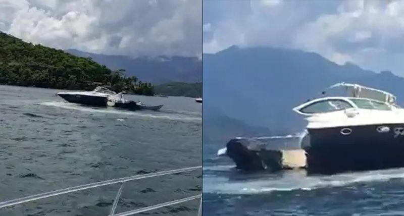 VÍDEO: Acidente entre lanchas deixa quatro mortos em Angra dos Reis