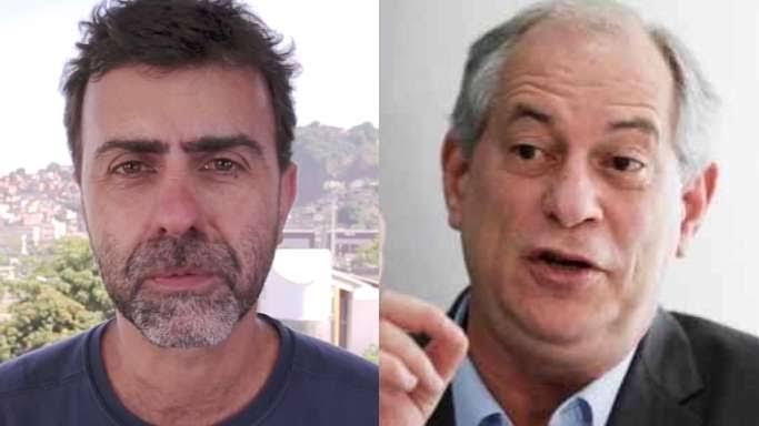 Notícia-crime pede ao STF a prisão de Ciro Gomes e Freixo por incitar ódio e violência contra Bolsonaro