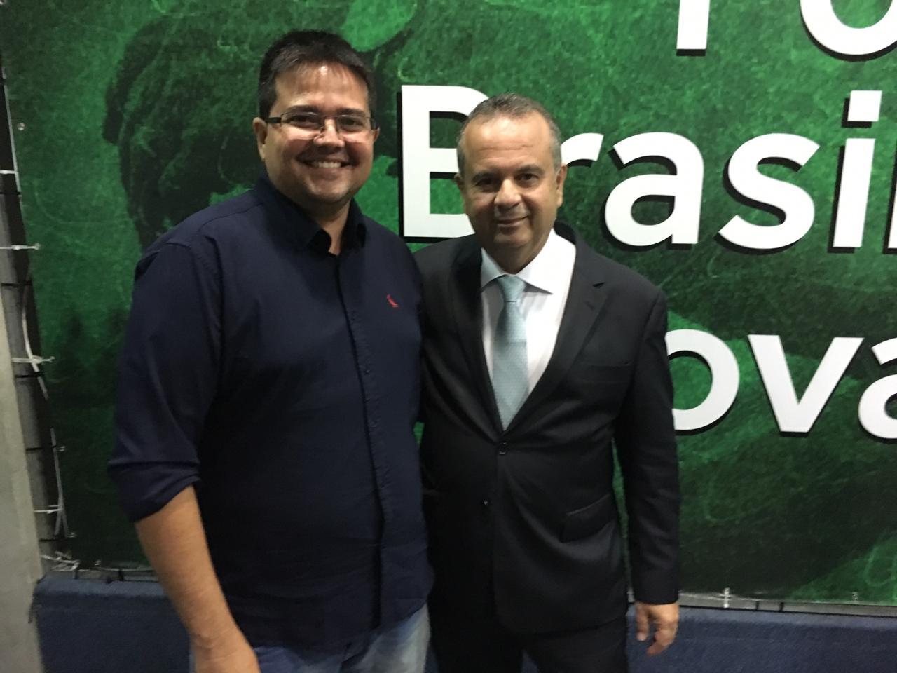 Aliado de Rogério Marinho assume presidência do Patriota no RN