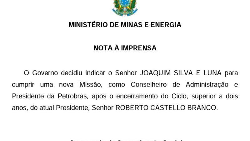 Urgente – Bolsonaro troca presidente da Petrobras após sucessivos aumentos
