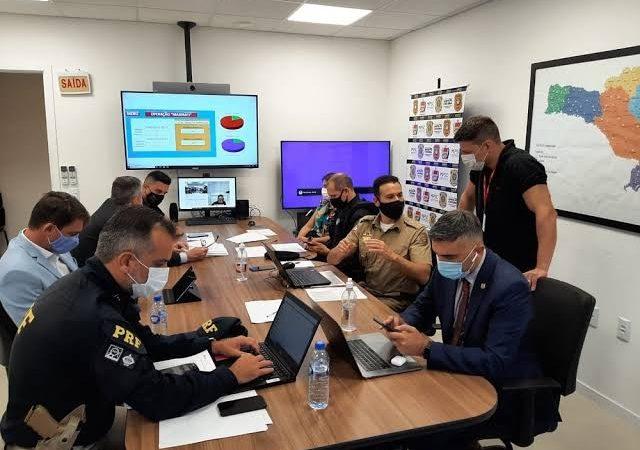 Megaoperação contra facção cumpre quase 300 mandados