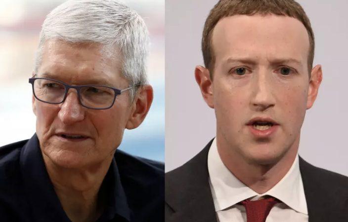 Briga de gigantes: Facebook e Apple estão em guerra; entenda