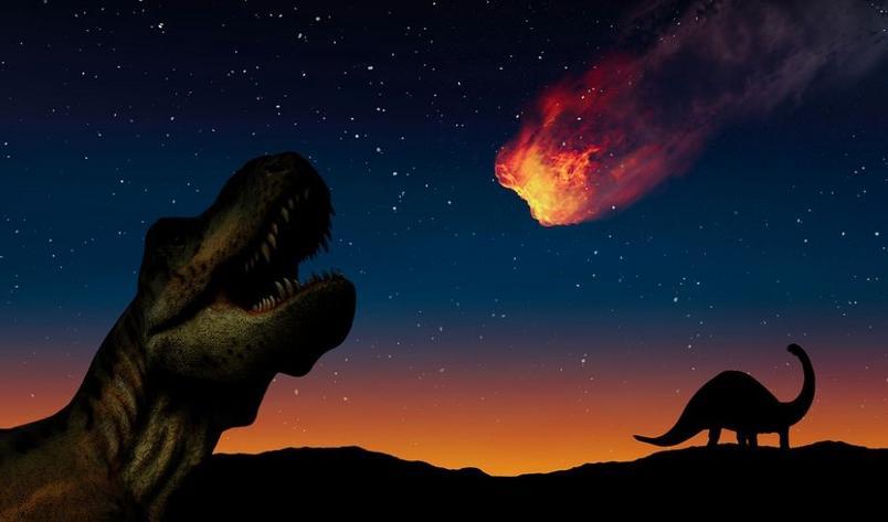 Nova teoria: Pode não ter sido um asteroide que causou extinção dos dinossauros