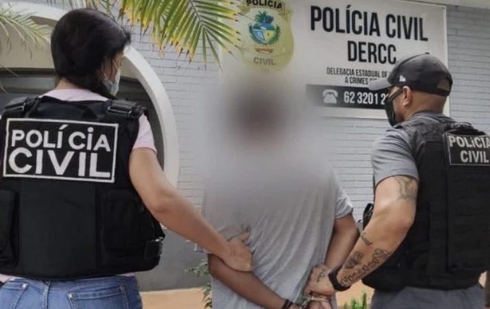 Homem é detido com mais de 1 mil vídeos de pornografia infantil em Goiás
