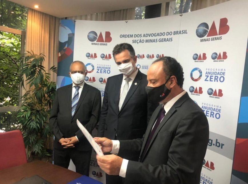 """Presidente do senado quer acabar com farra de eleição indireta para OAB federal, merece """"toda atenção"""", diz Rodrigo Pacheco"""