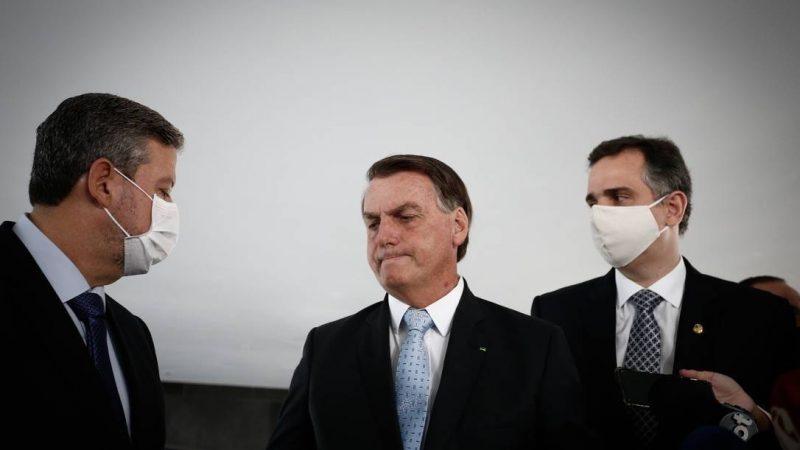 Bolsonaro espera ter paz com nova configuração nas mesas  do congresso nacional