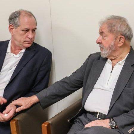 """Ciro Gomes: """"Não vou deixar o Lula ganhar essa na lambança"""""""