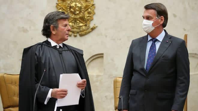 Bomba: Fux liga para Bolsonaro e pergunta se ele vai decretar estado de sítio