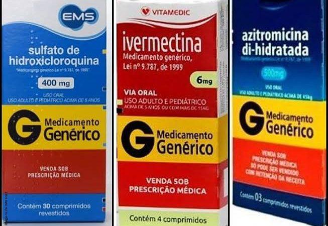 Veja cidades que já zeraram internações e reduziram mortes por Covid-19 com tratamento precoce com ivermectina, cloroquina e azitromicina