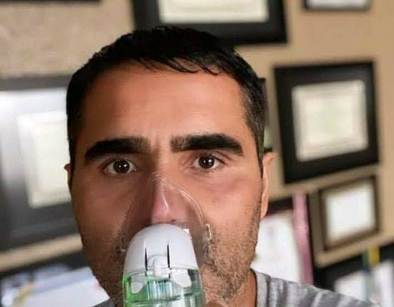 Deputado testa positivo para Covid-19 e faz tratamento de inalação com hidroxicloroquina em casa