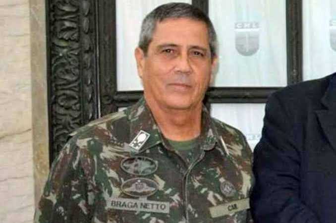 General Braga Netto é cotado para assumir Ministério da Defesa