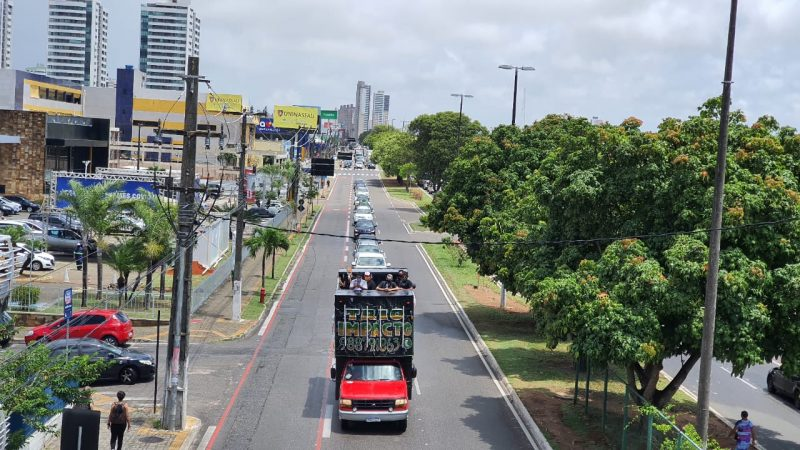 Empresários e trabalhadores fazem enorme carreata contra Lockdown imposto pelo governo Fátima; VEJA VÍDEO
