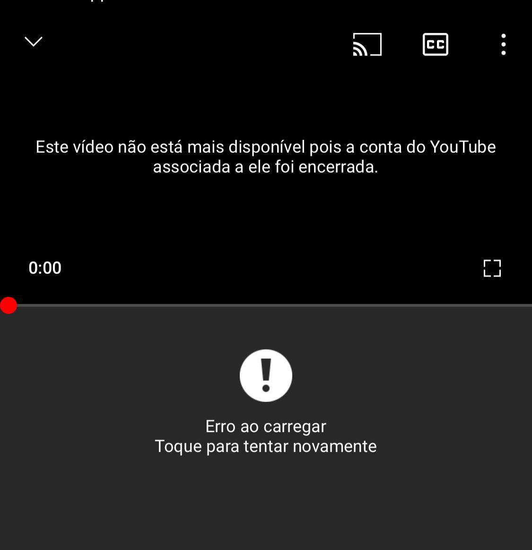 Censura: YouTube exclui canal do Terra Brasil Notícias; acesse nossa conta 'reserva'