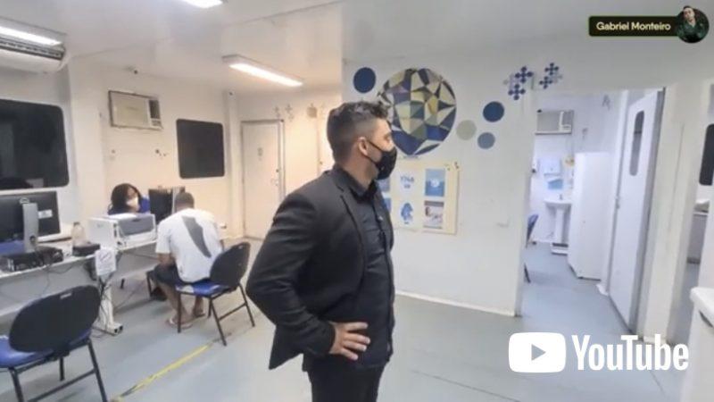 Vereador Gabriel Monteiro manda prender médica que se recusava atender pacientes e tentou fugir de 'flagrante'; VEJA VÍDEO