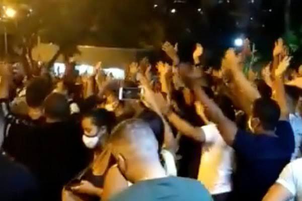 """Policiais ameaçam fazer greve após policial ser morto enquanto protestava contra lockdown na Bahia: """"A PM parou""""; VEJA VÍDEO"""