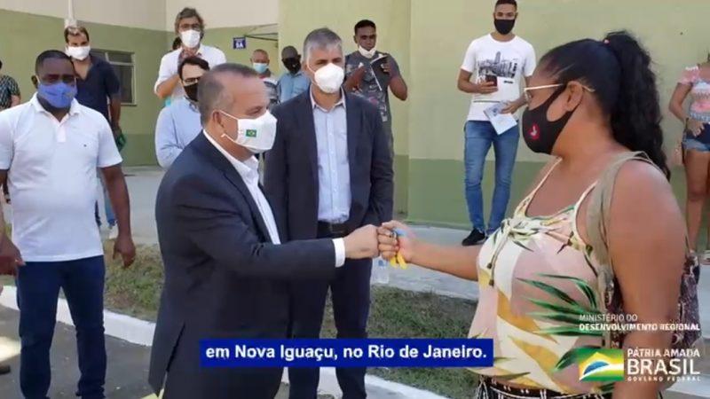 Rogério Marinho conseguiu proezas essa semana mesmo em meio a pandemia e entregou mais de 1700 casas no RJ, VEJA O VÍDEO