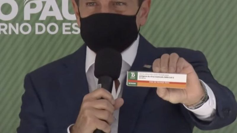 "Butantan Admite que usou tecnologia americana para estudos da vacina ""100% brasileira"""