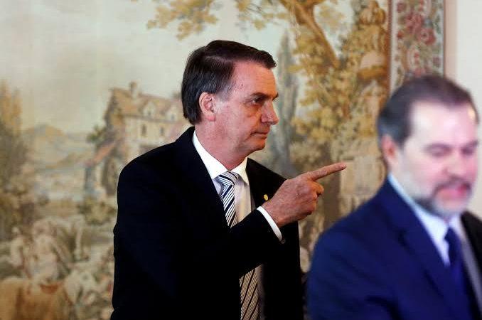 Bolsonaro deixa STF em situação difícil