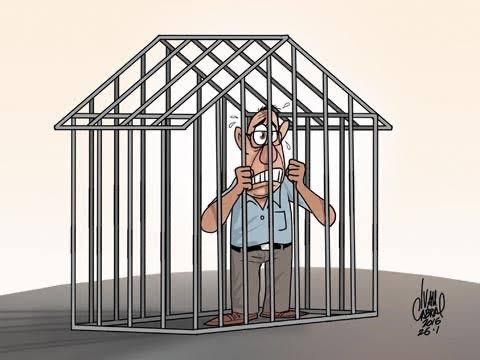 """A partir das 20H de hoje os potiguares estarão em """"prisão Domiciliar"""""""