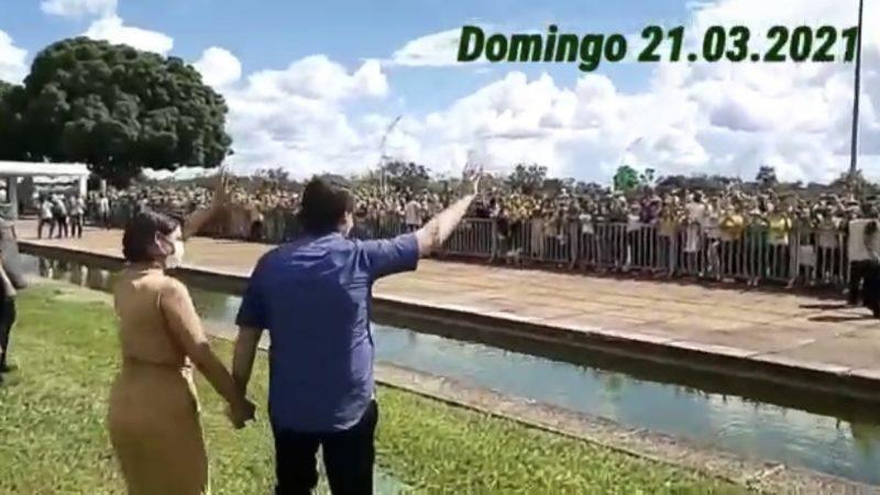 """Bolsonaro faz discurso forte em seu aniversário e promete combater tentativas de cercear liberdades por """"ditadores"""" de ocasião, VEJA VÍDEO"""