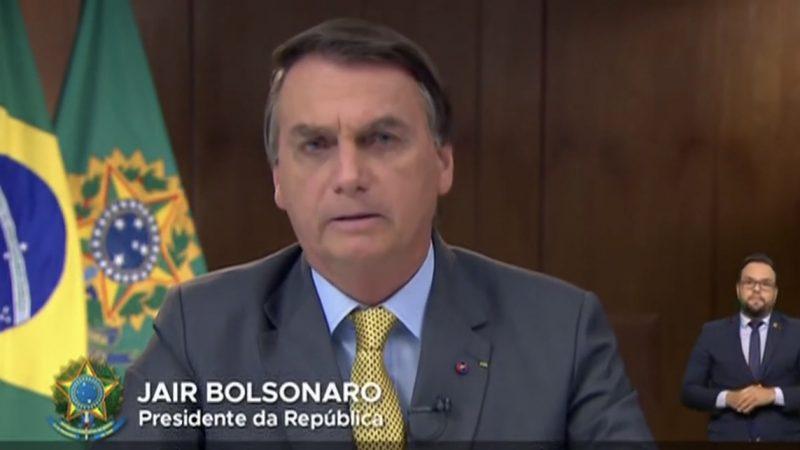 VÍDEO: Bolsonaro faz pronunciamento a nação e garante 500 milhões de vacinas até o fim do ano