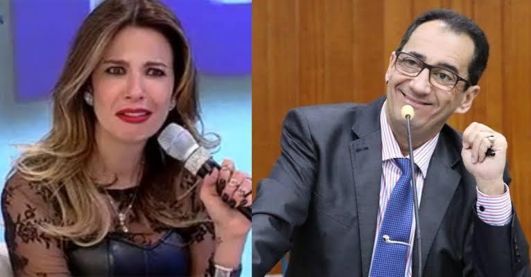 """Senador Jorge Kajuru diz que Luciana Gimenez é """"garota de programa"""""""