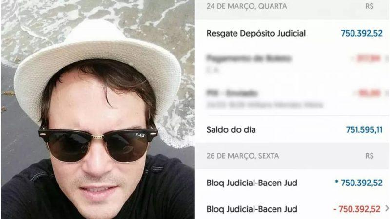 Homem recebe R$ 750 mil após ter conta confundida com a de ex-jogador do Santos e devolve o dinheiro