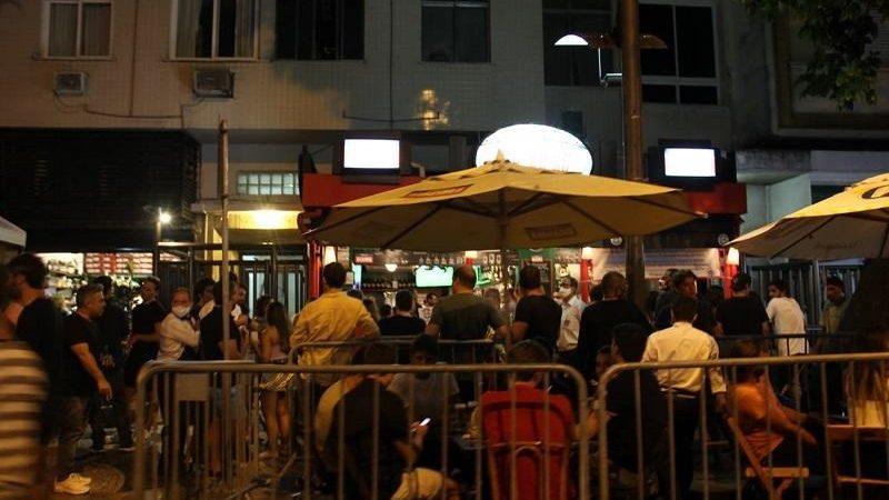 Decisão judicial amplia horário de bares e restaurantes no Rio de Janeiro