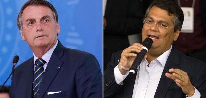 Flávio Dino vai ao STF contra Jair Bolsonaro por ter mostrado repasses de recursos ao Maranhão