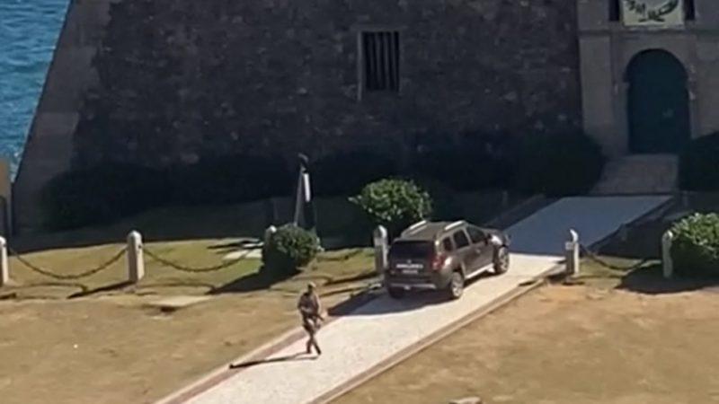 TRISTE: Policial que teve surto psicótico na Bahia enfrentou seus colegas e foi alvejado por vários tiros, VEJA OS VÍDEOS