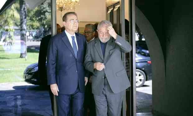 Lula vai a Brasília reforçar articulação política com Renan Calheiros e o 'velho MDB'
