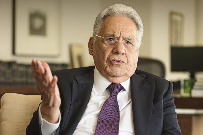 Fernando Henrique Cardoso reforça intenção de voto em Lula contra Bolsonaro
