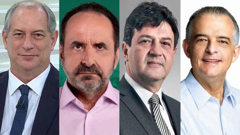 Mandetta, Ciro Gomes, Márcio França e Kalil se reúnem para discutir 'reconstrução nacional'