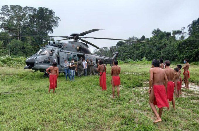 Bolsonaro tem cuidado especial com indígenas e manda Força Aérea para vaciná-los contra Covid-19; mais de 110 mil já foram imunizados