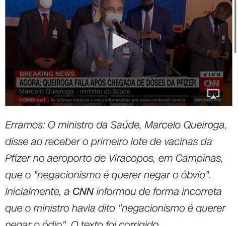 """CNN reconhece fake news denunciada pelo Terra Brasil Notícias e faz """"errata"""""""