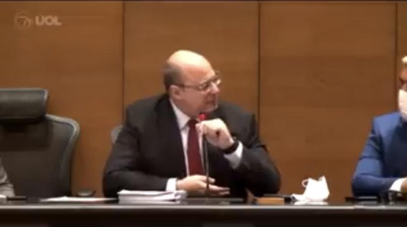 VÍDEO: Witzel é interrogado e chora ao se defender em processo de impeachment por suspeitas de desvios na Saúde no RJ