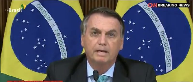 Bolsonaro culpa prefeitos e governadores por desemprego no Brasil