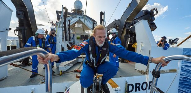 Milionário Senhor das Profundezas alcança naufrágio mais profundo dos mares