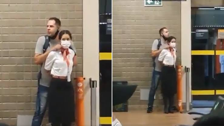 Homem é preso após fazer funcionária da GOL refém no Aeroporto de Guarulhos; VEJA VÍDEO