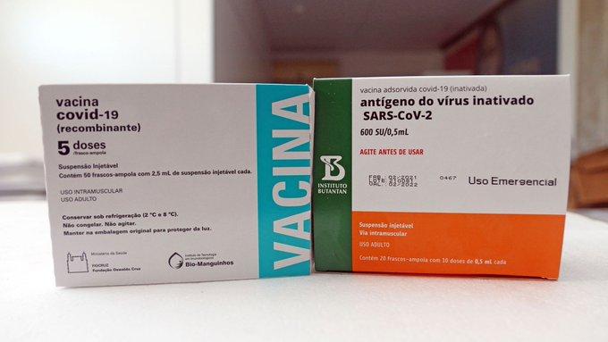 Governo Bolsonaro inicia distribuição de mais 4,4 milhões de vacinas
